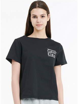Calvin Klein Underwear (カルバン クライン アンダーウェア) - CALVIN KLEIN UNDERWEAR COORDINATING クルーネックTシャツ カルバン・クライン カットソー