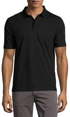 Armani Collezioni Supima® Cotton Polo Shirt, Black
