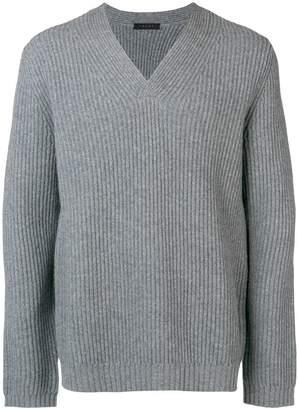 Falke v neck knit sweater