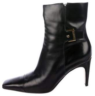 Chanel Cap-Toe Ankle Boots