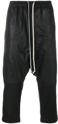 Rick Owens textured drop-crotch trousers