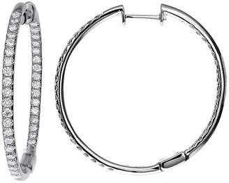 FINE JEWELRY LIMITED QUANTITIES 1 CT. T.W. Diamond Hoop Earrings