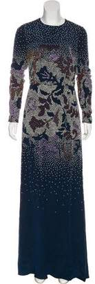 Tory Burch Embellished Maxi Dress