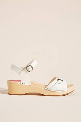 Swedish Hasbeens Preppy Debutant Clog Sandals
