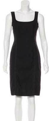 Philosophy di Alberta Ferretti Wool Knee-Length Dress
