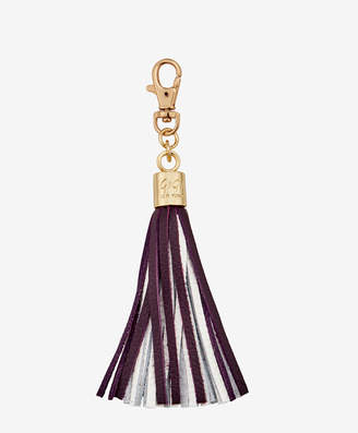GiGi New York Tassel Bag Charm Blue and Yellow