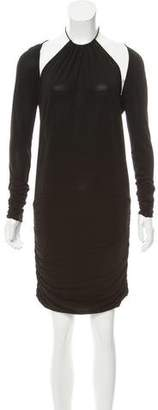 BCBGMAXAZRIA Long Sleeve Mini Dress
