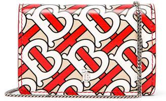 Burberry Jessie Monogram Crossbody Bag in Vermillion | FWRD