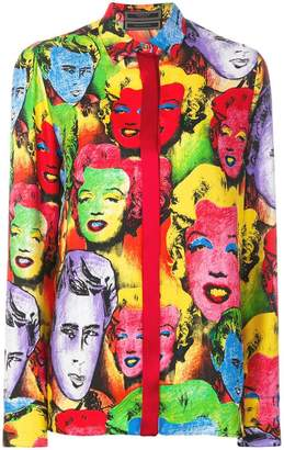 Versace Marilyn print shirt