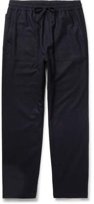 YMC Tapered Flannel Drawstring Trousers