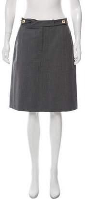 Diane von Furstenberg Panel Acmis Knee-Length Skirt