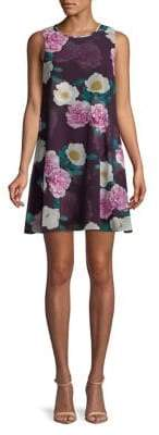 Eliza J Petite Sleeveless Floral Dress