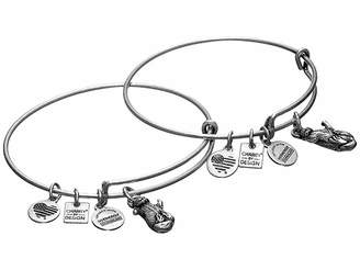 Alex and Ani Charity by Design Side by Side Set of 2 Expandable Wire Bangles