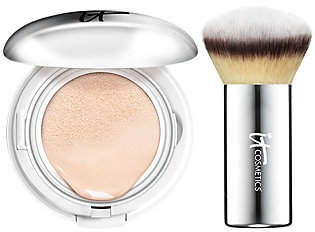 It Cosmetics CC Veil SPF 50 Foundation CushionCompact w/Brush