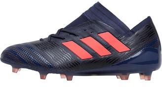a2a0685fe adidas Womens Nemeziz 17.1 FG Football Boots Trace Blue Red Zest Core Black