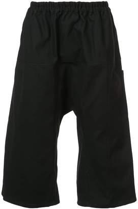 Raf Simons dropped crotch shorts