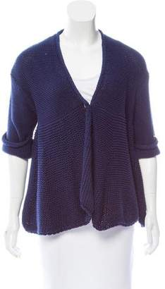 Stella McCartney Short Sleeve Knit Cardigan