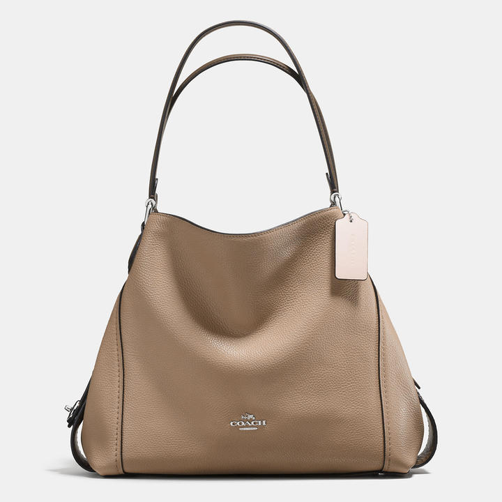 Coach   COACH Coach Colorblock Edie Shoulder Bag 31 In Mixed Materials
