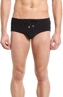 Men's Vilebrequin Tuxedo Swim Briefs $135 thestylecure.com