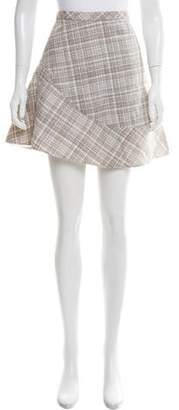 Marc Jacobs Patterned Mini Skirt w/ Tags