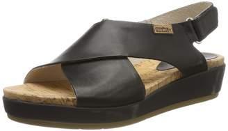 5f8b465392d PIKOLINOS Womens Mykonos Leather Open Toe Casual Platform Sandals