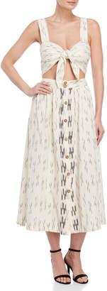 Free People Caldasi Cutout Midi Dress