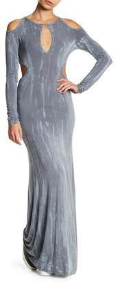 Couture Go Cut Out Maxi Keyhole Dress