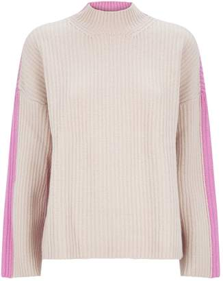Pringle Contrast Ribbed Sweater