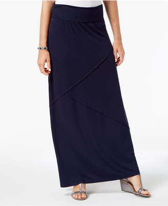 Style&Co. Style & Co Petite Pieced Maxi Skirt, Created for Macy's