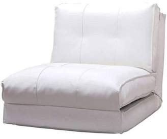Devon & Claire Kate Leather Chair/Single Bed, Multiple Colors