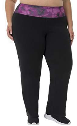 Fruit of the Loom Fit for Me by Women's Plus Size Relaxed Fit Pant