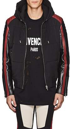 Givenchy Men's Tech-Twill Moto Jacket