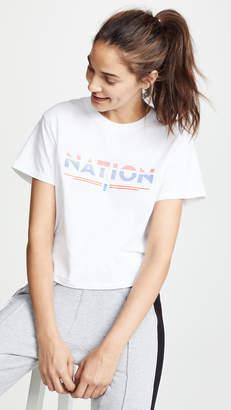 P.E Nation Point Flag Tee