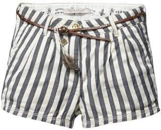 Scotch R'Belle Railroad Stripe Short