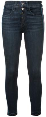 Veronica Beard Debbie 10 with Tux Stripe jeans