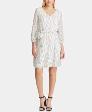 American Living Polka-Dot Dress