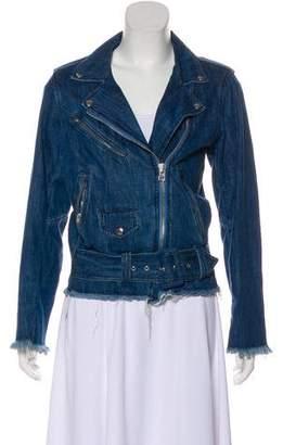 Marques Almeida Marques' Almeida Zip-Up Denim Jacket