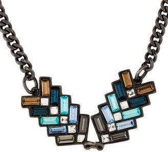 Giles & Brother Crystal Pendant Necklace $95 thestylecure.com