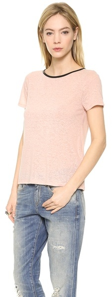 Alice + Olivia Sterling Cutout Back Tee
