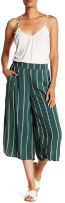 Cotton On & Co. Mid Rise Striped Drapey Culotte Pants