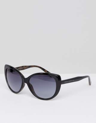French Connection Oversized Square Sunglasses