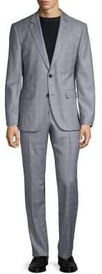 HUGO BOSS Jeffery/Simmons Plaid Suit