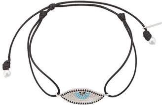 Hues evil-eye pendant bracelet
