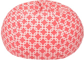 Gold Medal Extra Large Trellis Bean Bag Chair