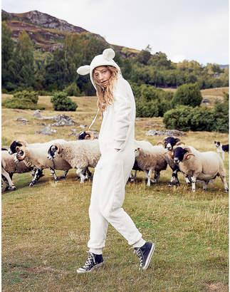 aerie Cozy Sheep Jumpsuit