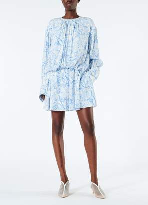 Tibi Isa Toile Short Shirtdress