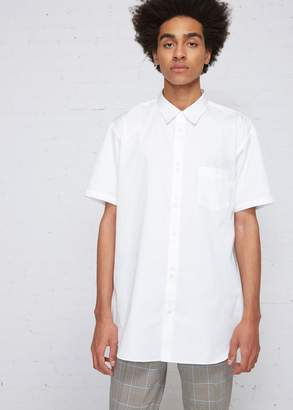 e68378c75f75 White Button Short Sleeve Double Pocket Shirt - ShopStyle