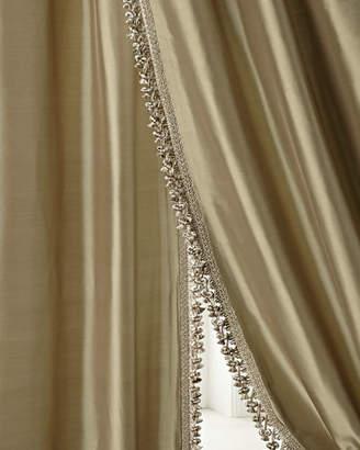 "Sweet Dreams Each 90""L Crystal Palace Imperial Silk Curtain"