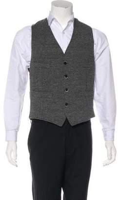 Barena Venezia Wool-Blend Suit Vest