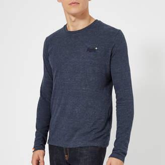Superdry Men's Orange Label Vintage Embroidery Long Sleeve T-Shirt